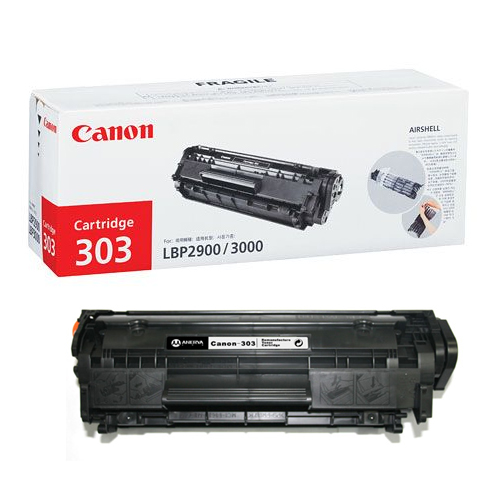 Mực in Canon 303 Black Toner Cartridge