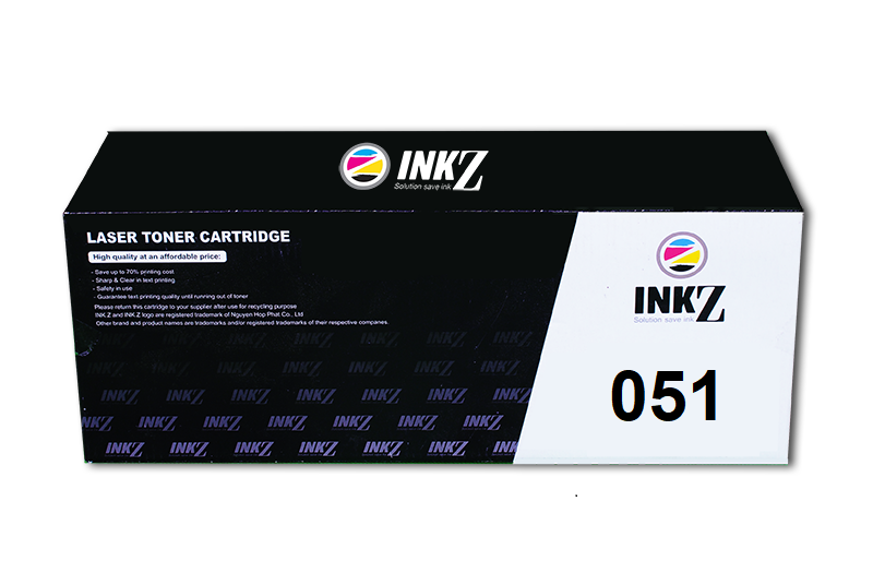 InkZ 051 Black Toner Cartridge