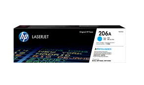 Mực in HP 206A Cyan Original Laser Toner Cartridge (W2111A)